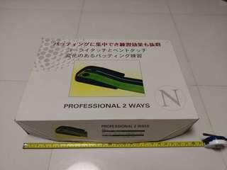 Japanese golf put 哥爾夫球推杆練習軌道
