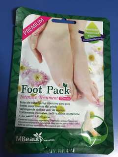 🚚 MBeauty Intensive Foot Pack Intensive Treatment Mask (Made in Korea)