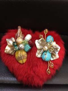 "Brooch ""Imported"""
