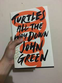Turtles all the way down by John Green - Brand New