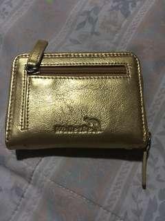 WalletBe Smooth Leather Zipper Accordion ID Pocket Wallet