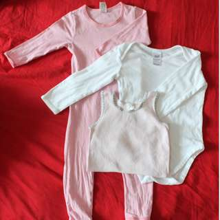 Combo Baby Girl. Size 1 (12-18m)