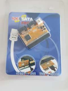 SATA to IDE / IDE to SATA Converter