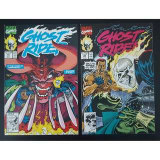 Ghost Rider #19-#20 (1991 2nd Series) Complete Set of 2