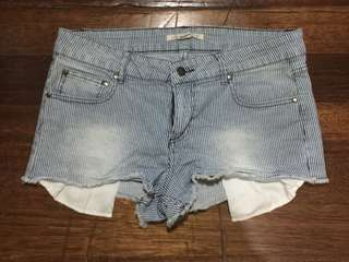 Forever 21 Ripped Mini Shorts