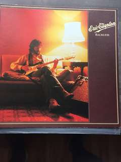 Vinyl Record - Eric Clapton - Backless
