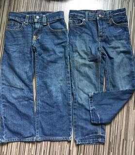 Size 4 Tommy Hilfiger n Polo Ralph Lauren jeans