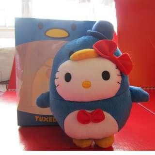 TUXEDOSAM 企鵝xHello Kitty毛公仔連盒 (麥當奴出品)