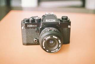 Ricoh XR-500 with Vivitar 28mm f/2.8 WIDE lens