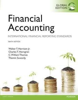 Financial Accounting (Pearson) Ninth Edition