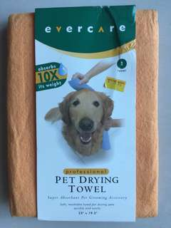 Brand New EVERCARE Professional Pet Drying Towel