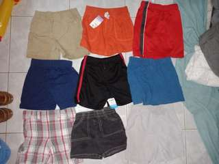 Shorts branded take all