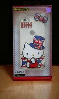 Iphone 6  Hello kitty 軟手機殼