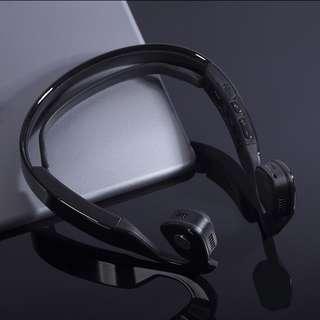 Smart bone conduction bluetooth stereo headset