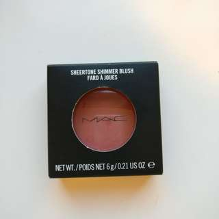 MAC Peachy Keen Sheertone Shimmer Blush