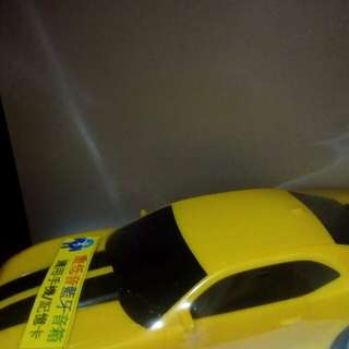 大黃蜂跑車造型重低音藍牙音箱