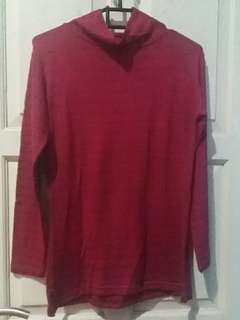 Preloved baju wanita merah maroon