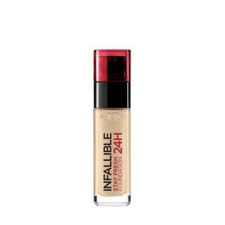 L'OREAL Paris 24h Infallible Stay Fresh Foundation (Sand)