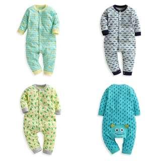Lativ 嬰幼兒連身衣 新生兒連身衣 baby連身衣 嬰幼兒兔裝 新生兒兔裝 babay兔裝 60公分