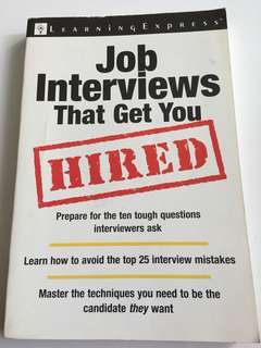 Job interview that gets you hired
