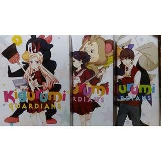 Kigurumi Guardians Manga 1-3