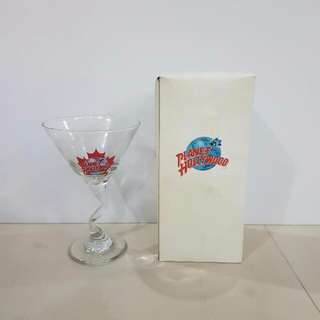 Toronto Planet Hollywood Wine Glass, Collectible