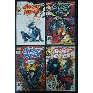 Ghost Rider #21,#22,#23,#24 (1992 2nd Series) Complete Set Of 4