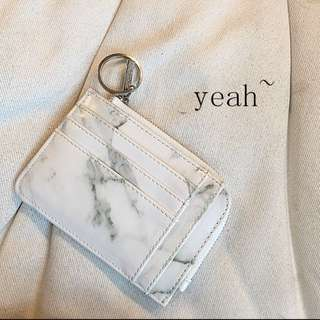 [PO] marble multi card bag