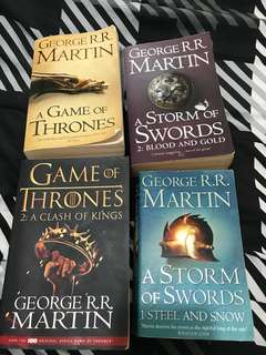 Game of Thrones Books