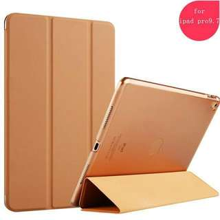 9.7'' ZOYU For Apple iPad Air 2 Case PU Leather Smart Cover table brown Free Screen Film 蘋果 保護套 休眠功能 啡色 包郵