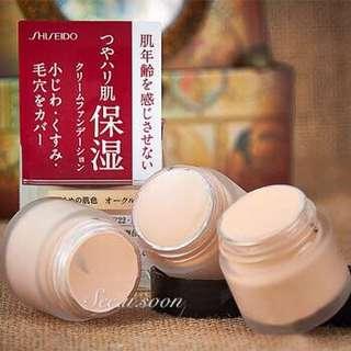 日本資生堂Integrate Gracy 保濕粉底霜