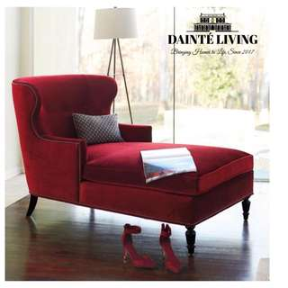 Rouge Casaque   Lady Daybed//Chaise Lounge