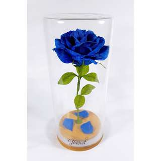 Enchanted Rose in Sapphire