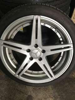 """Mercedes 18"""" rims"""