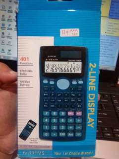 #AFBakrie_Scientific Calculator Fx-991MS