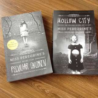 MISS PEREGRINE'S HOME FOR PECULIAR CHILDREN SET