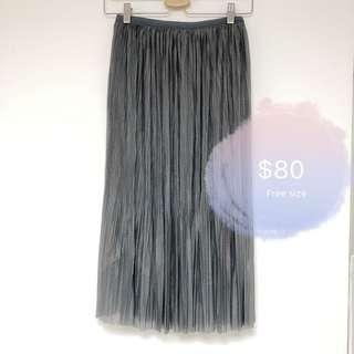 Korea pleated skirt dress 百褶 裙