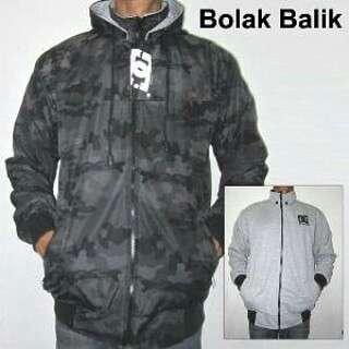 Jaket Bolak Balik Army