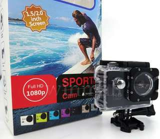 Sports DV Video Car Cam DV Action Waterproof  30M