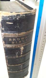 Browns Bible 100 years old