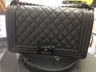 Boy Chanel 25cm Black