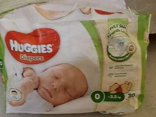 Huggies 尿片 free 0 size