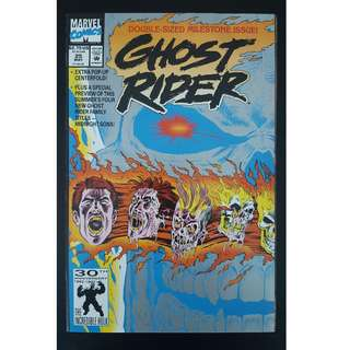 Ghost Rider #25 (1992 2nd Series)- Double-Sized Milestone Issue!