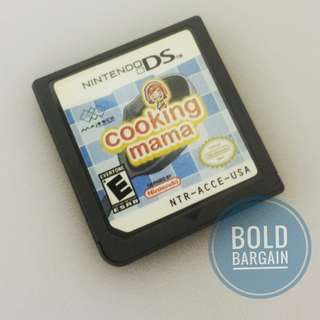 Authentic Cooking Mama Game Carriage for DS 3DS 2DS DS Lite DSi