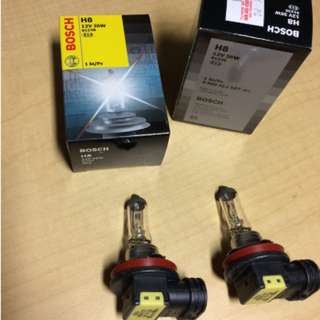 BOSCH H8 BULB 1 PAIR (MADE IN KOREA) MYVI 1ST MODEL SE FOGLAMP BULB