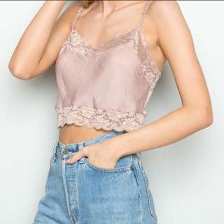 Brandy Melville Lace Top