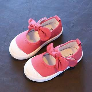 KIDS SHOES RIBBON ~READY STOK~