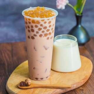 珍珠奶茶珍珠原料 500g 三色三味