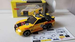 Tomica Skyline GT-R R34 (未貼)