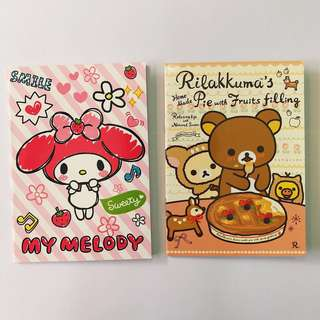Sanrio Character Note Book